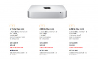 Mac Mini 小小一方大有可為,最新規格釋出