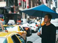 一起舉傘!仿摺紙設計無金屬支架雨傘登場