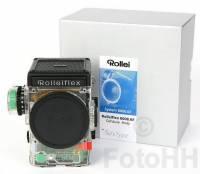 世上僅有一部的 Rolleiflex 透明版原型機 eBay 有售!?