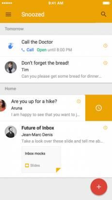 """Google 的新世代電郵: """"Inbox"""" app 令電郵從此不一樣 [圖庫+影片]"""