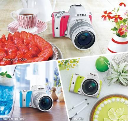 Ricoh Image 將於日本推出以甜品作為配色風格的 Pentax K-S1 Sweet Collection