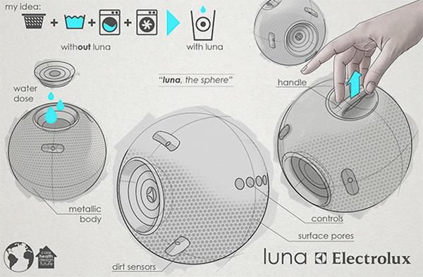 釋放洗衣引力 - Luna 洗衣球