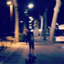 親愛的,我把滑板帶來法國了!