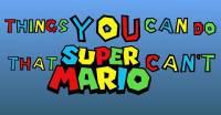 5件你做來簡單,但超級瑪利歐辦不到的事