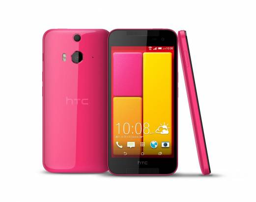 HTC Butterfly 2 推出櫻桃紅新色,並宣布 Butterfly 2 將於 11 月底提供 Eye 體驗升級