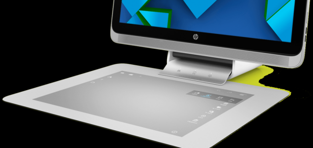 HP 新一代電腦: 沒有鍵盤和滑鼠, 只有一塊板 [圖庫+影片]
