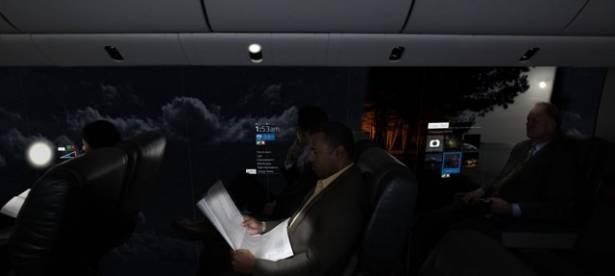 你夠膽坐嗎? 新型無窗飛機, 看到外面 360 度全景 [影片]
