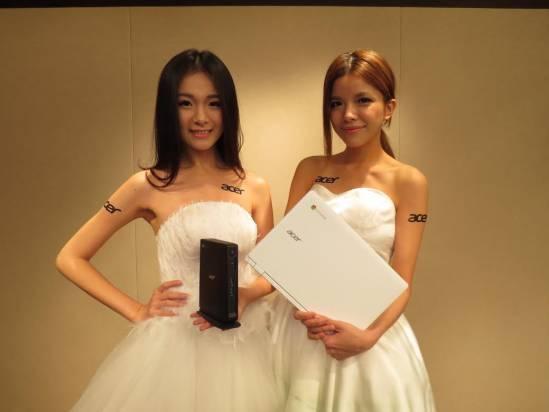 Acer 宣布在台推出 Chrome OS 產品線,預計 11 月初推 Chromebook 與 Chromebox