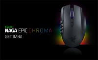 Razer NAGA EPIC 也可以閃亮亮了, Razer 宣布 NAGA EPIC CHROMA MMO 無線滑鼠