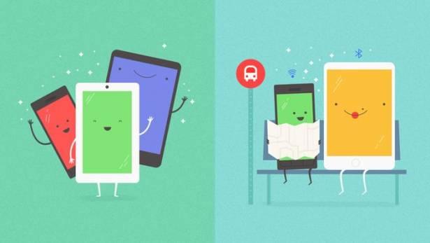 iOS / Android 不再自閉: Google 將推超方便跨平台檔案自由分享