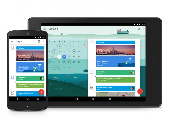 Google 全新月曆 App: 超美超實用 [影片]