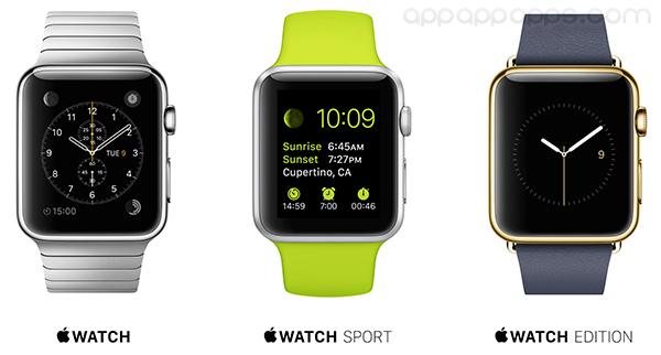 Apple Watch 各系列售價曝光, 連標準版也絕不便宜