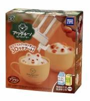 會泡咖啡不會拉花,拉花神器連 3D 奶泡都打得出來