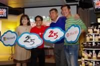 台灣微軟歡慶台灣分公司與 Office 25 年,強化 Office 365 行動版並陸續開放編輯功能