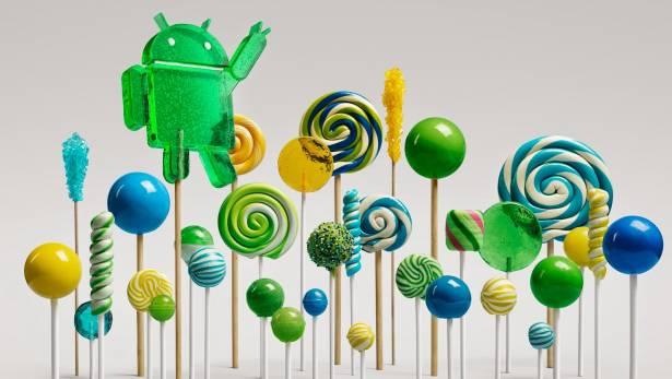 Google Nexus 手機平板開始吃棒棒糖了