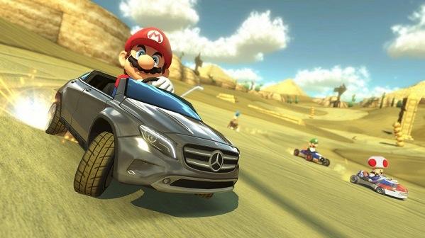 真人版 Mario 和 Luigi 超帥的!Mario Kart x Benz 聯名廣告