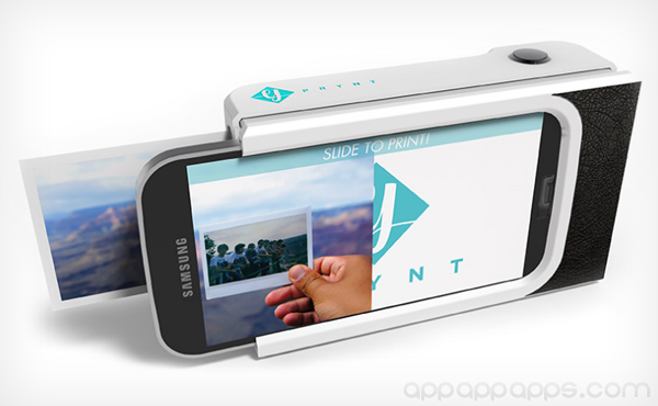 手機即影即有: 裝上這個殼, 相片立即印出來 [影片]