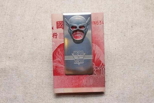 【生活玩物】做自己生活中的英雄!「HERO OR ZERO 百元鈔人鈔票夾」