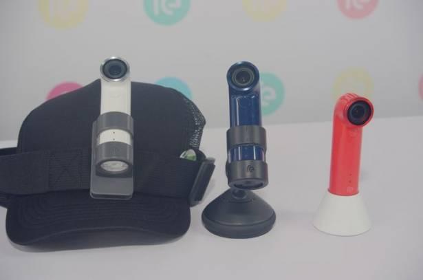 顛覆隨身拍照的概念, HTC Re Camera 在台推出