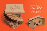 最低成本的 VR 套件受歡迎是應該的, Google 公布至今發出五十萬個 Cardboard