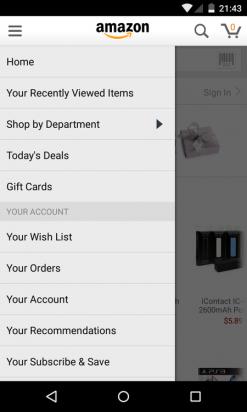 Amazon Shopping App 在 Google Play 重新上架