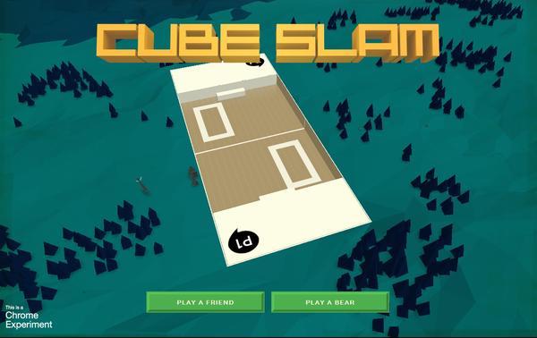 可以讓你輕鬆消磨時光好的小遊戲Cube Slam,與好友對戰更刺激