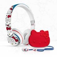 可愛甜美與潮流嘻哈的混搭, Hello Kitty 聯名款 Beats 耳機 Solo 2 urbeats 限量推出