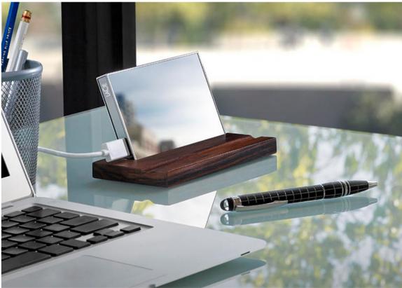 CES 2015:精品硬碟品牌 LaCie 推出魔鏡(Mirror)1TB 鏡面硬碟