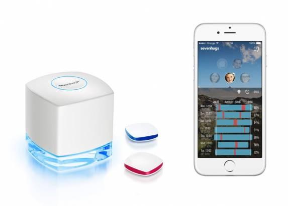 CES 2015:HugeOne 智慧型偵測器確保你和孩子們的睡眠品質