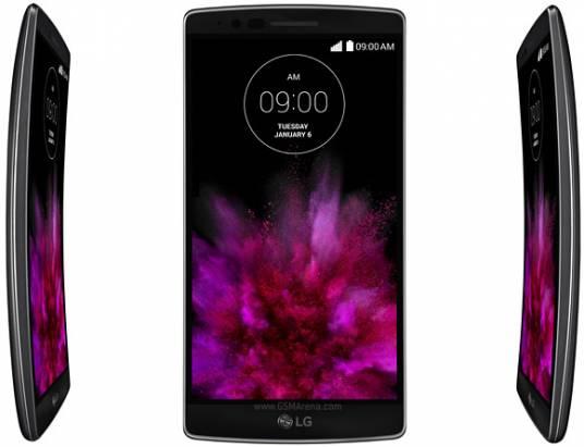 CES 2015 : LG 發表 G Flex 2 ,採 5.5 吋 PMOLED 曲面顯示以及高通 Snapdragon 810 應用處理器