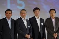 CSMIC 2015 :宏碁施振榮 英業達李詩欽 獵豹傅盛以用移動連結一切為題進行三方會談