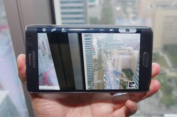 曲面顯示不光只是用在提升人體工學,具備獨特邊緣彎曲顯示的三星 Galaxy Note Edge 在台登場