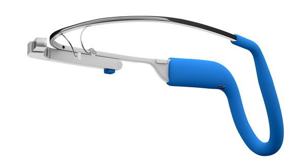 強化Google 眼鏡續航力的頭戴式行動電源