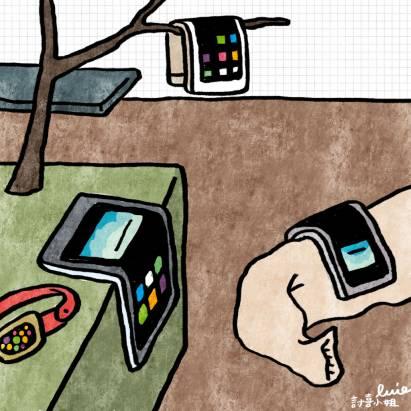 """今日新聞淺談:智慧型手機新趨勢,""""彎彎的"""" 才夠有看頭"""