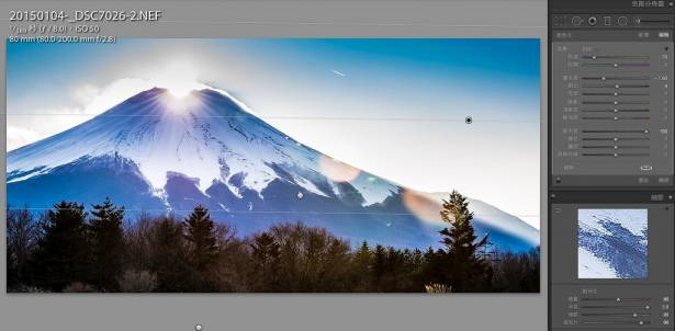 [攝影小教室] 跟我一起做,你也是修圖大師!(二)山中湖之鑽石富士「ダイヤ富士」