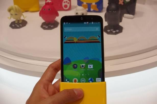 MWC 2015 : LG 針對年輕人市場的俏皮手機 LG AKA 動眼看