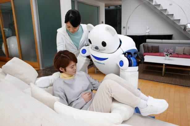 """""""你好,我是你的照料小幫手"""" 不輸給杯麵的機器人護士 Robear"""