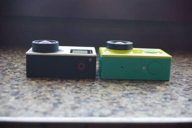 小米科技小蟻運動攝影機動眼看,加映與 GoPro Hero 4 對比