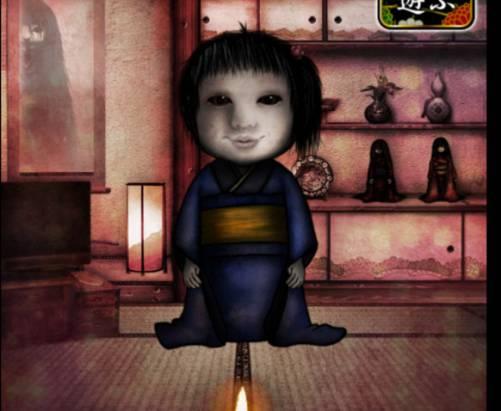 快被嚇破膽...,日本恐怖玩偶養成遊戲 APP