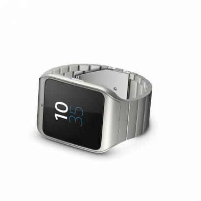 換個金屬錶帶風格都不一樣了, Sony SmartWatch 3 星鈦銀在台推出