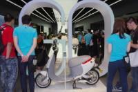 智慧電動輕載具 Gogoro 形象展示店與車體設計動眼看