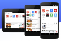 全新大改款 Opera mini for Android 上線,更輕 更快更直覺