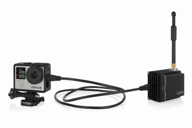 GoPro 發表即時影像串流套件 HEROCast ,可對應 Hero 3+ 與 Hero 4 Black