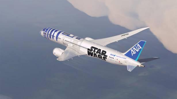 星戰迷你怎能錯過搭全日空的機會?全日空宣布將推出 R2-D2 彩繪機計畫