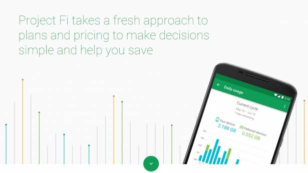 Google 推出 Nexus 6 專屬網路服務,採以量計費並提供跨國服務