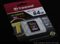 Transcend ULTIMATE UHS-I SDXC 64GB 記憶卡 開箱小測