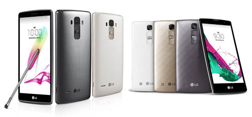 LG G4 家族再添兩機種,分別為大螢幕的 G4 Stylus 與小螢幕的 G4c