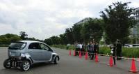 日本東京大學完成行進間無線供電之電動車模組技術展示