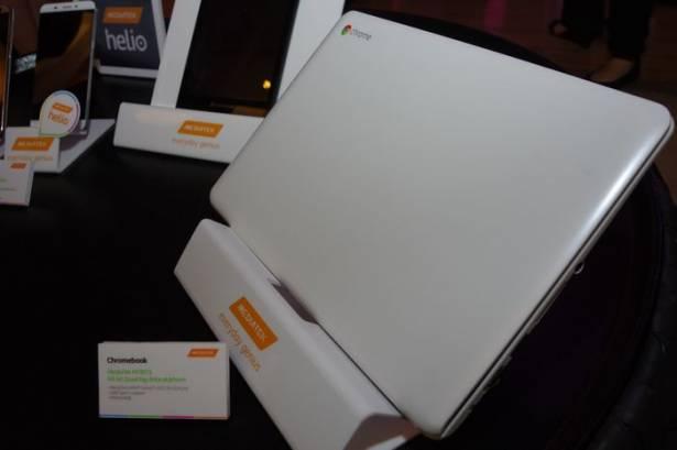 Computex 2015 :強調設計彈性,聯發科展出基於平板晶片 MT8173 之 Chromebook 參考設計