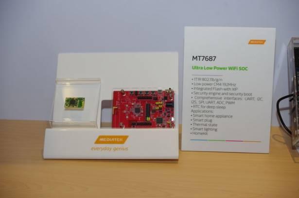 Computex 2015 : 聯發科推出針對物聯網的高整合 WiFi 系統單晶片 MT7687